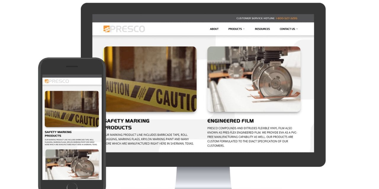 Presco Launches New and Improved Website