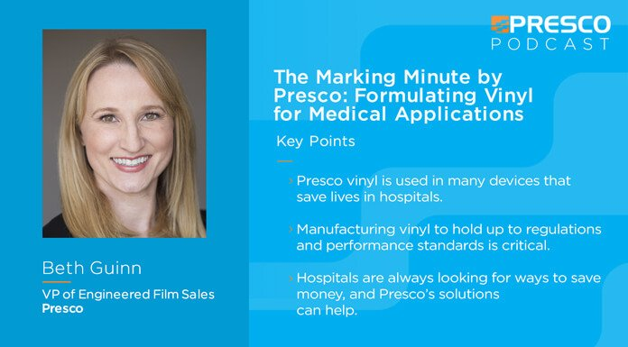 The Marking Minute: Formulating Vinyl for Medical Applications with Beth Guinn