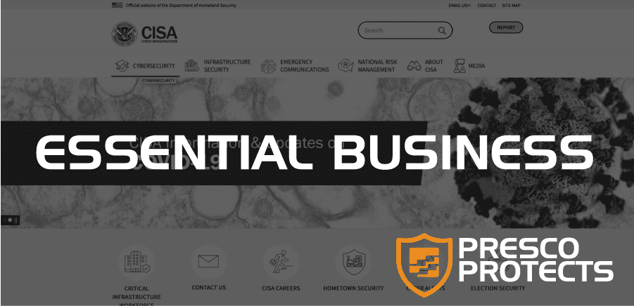 Presco Protects: Essential Business