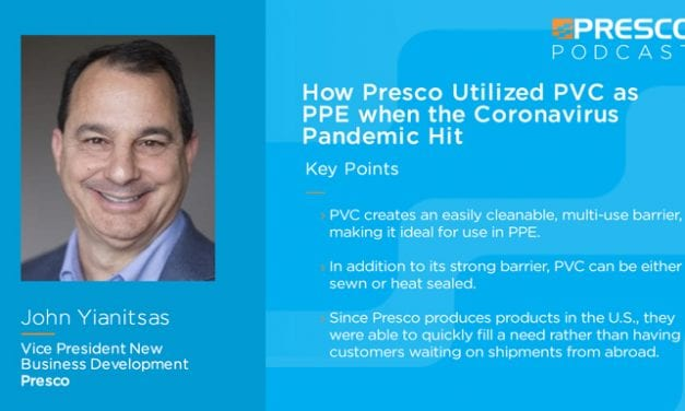 Marking Minute: How Presco Utilized PVC as PPE when the Coronavirus Pandemic Hit