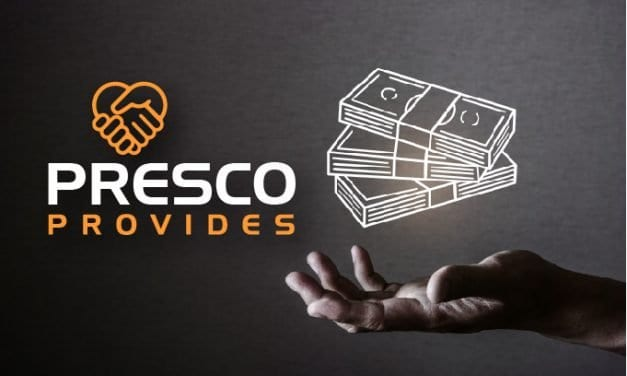 Presco Provides: Financial Peace of Mind