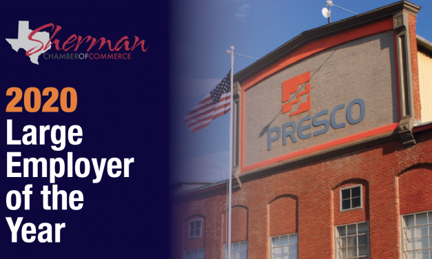 Presco Receives 2020 Large Employer of the Year Award